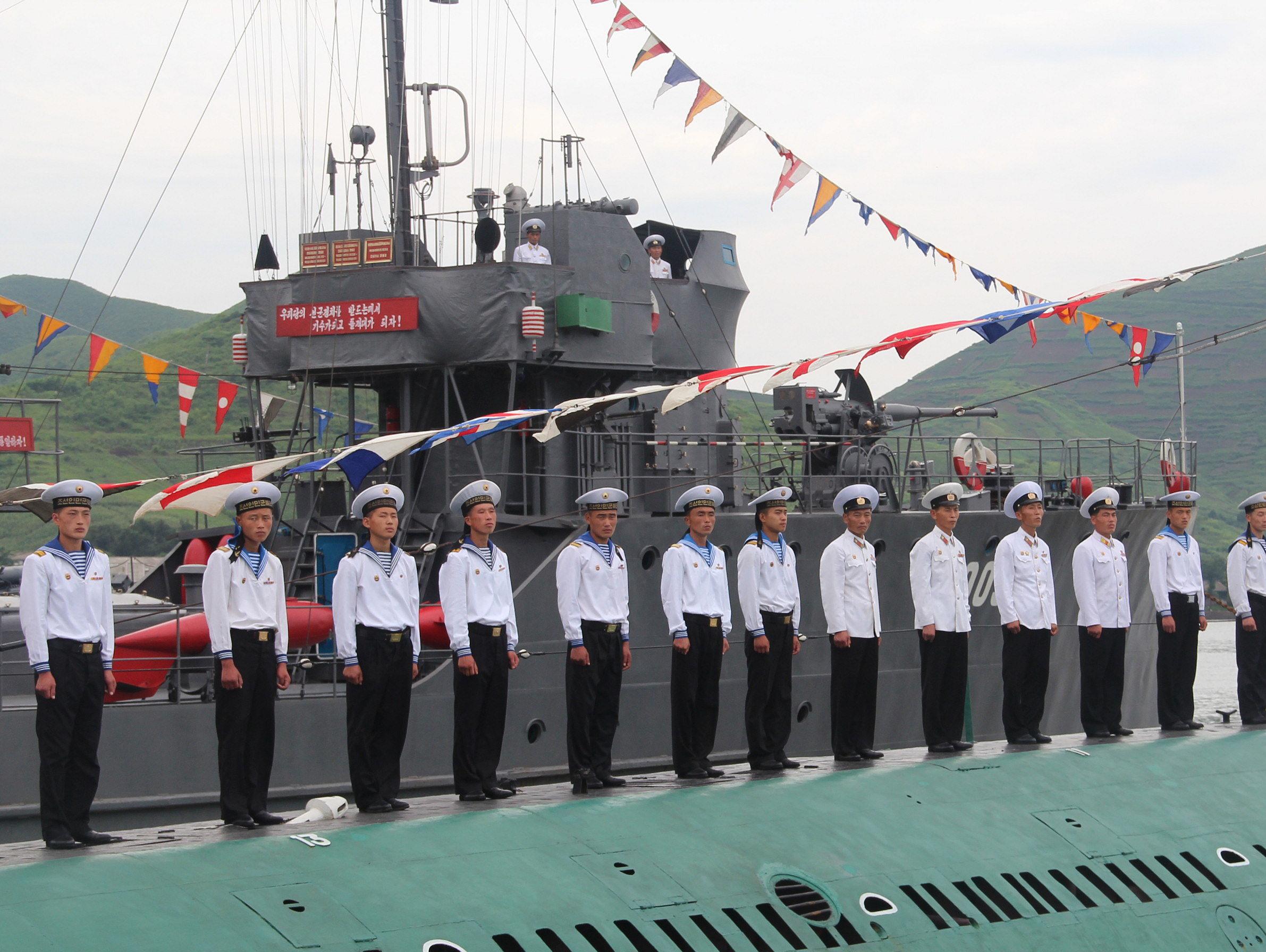 북한 육도급(Yukto class) 소해정(mineswe..
