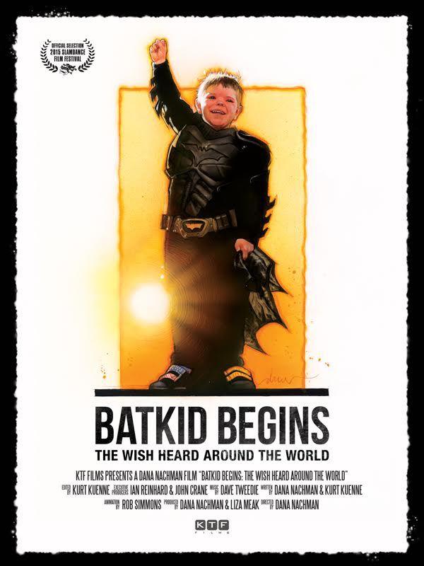 """줄리아 로버츠가 """"Batkid Begins""""를 베이스로 하는.."""
