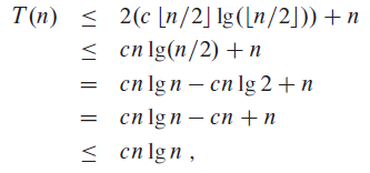 4.3 The substitution method for solving recu..