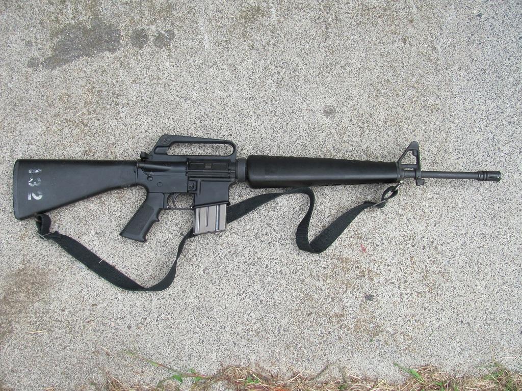 향토예비군 소총은 카빈 소총일까?