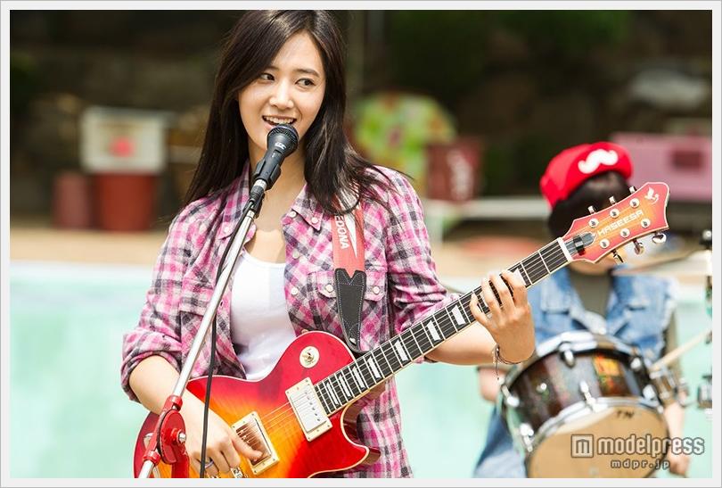 소녀시대 유리, 맹연습의 기타 연주를 피로. 솔..