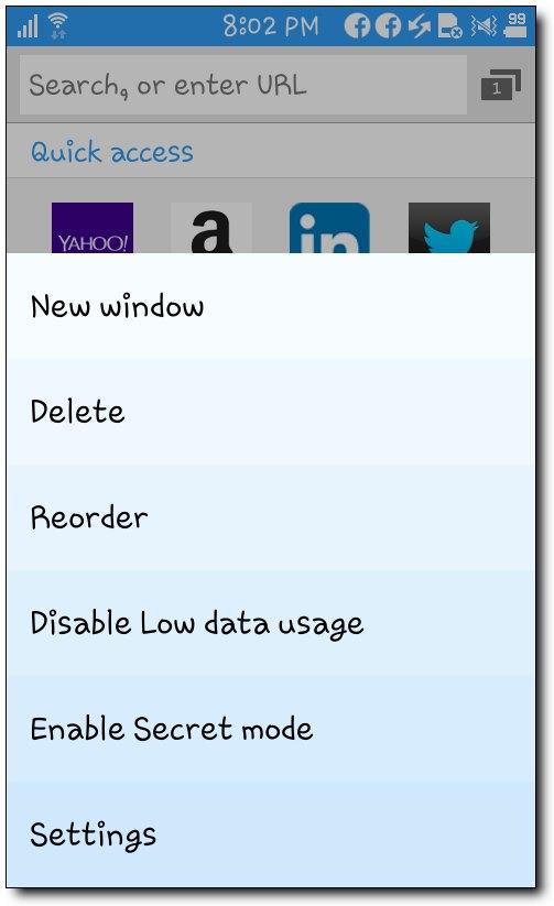 [Tizen][Samsung Z1] 타이젠폰 Z1에서 인터..