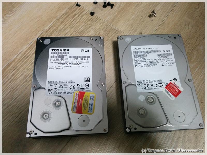 본격지름 - 도시바 3TB HDD DT01ACA300
