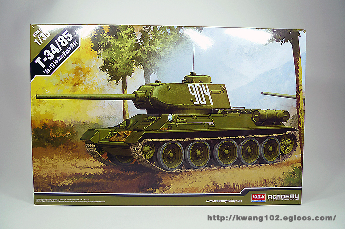 T-34/85 No.112 Factory production ( Academy ..