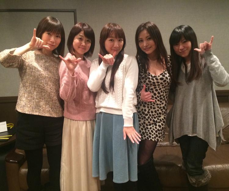 성우 다카하시 치아키씨의 트위터에 올라온 Aice5..