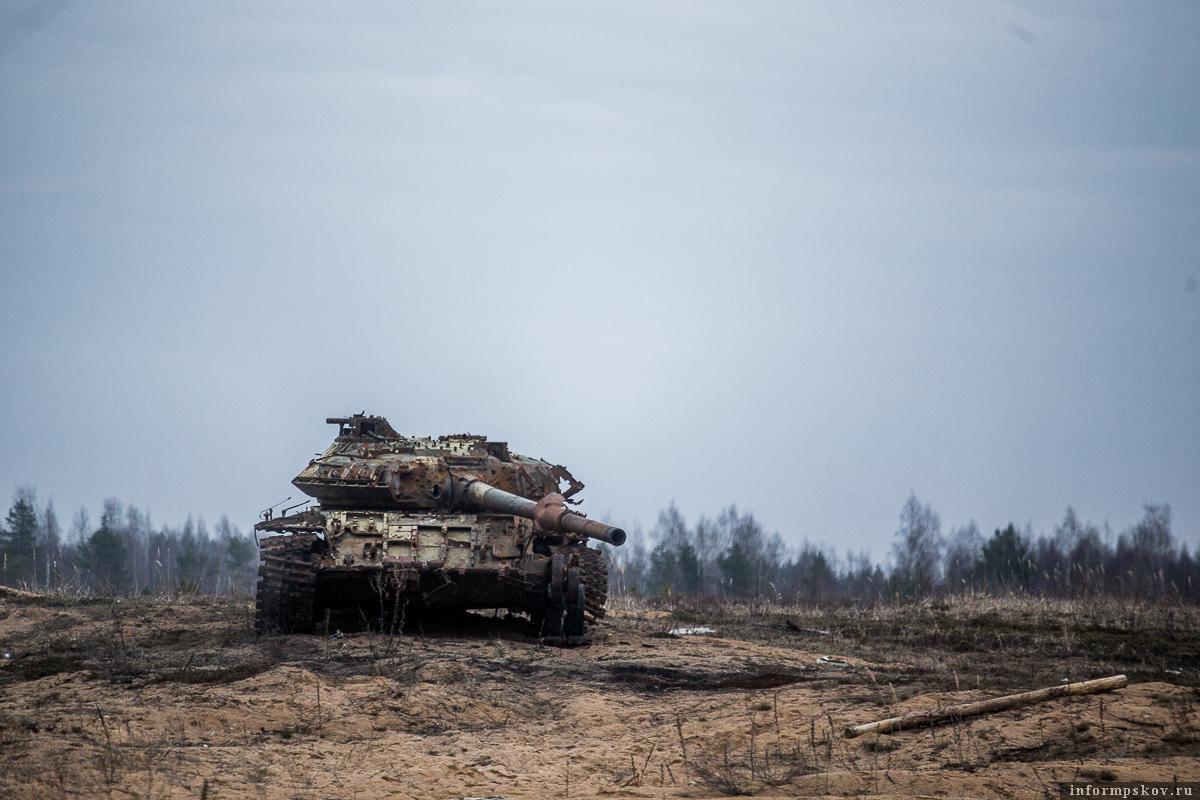 러시아군에서 배치못된 전차는