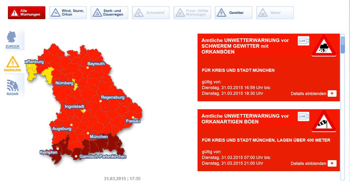 독일은 지금 폭풍으로 인해 난리입니다T_T