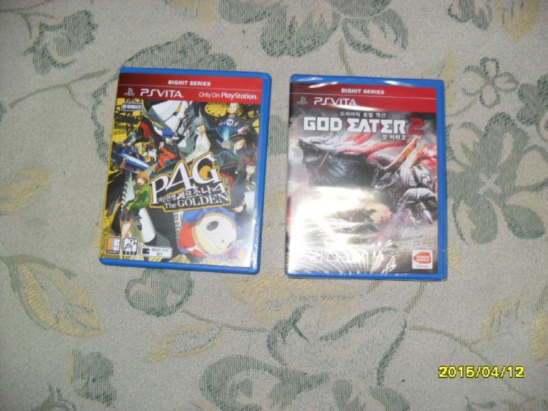[PS Vita] 지난 주 토요일에 구입한 게임들