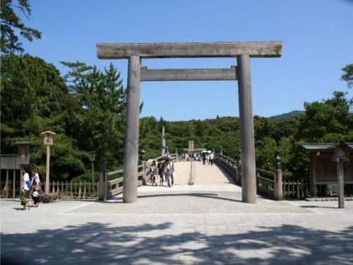 일본 최대의 신사, 이세신궁