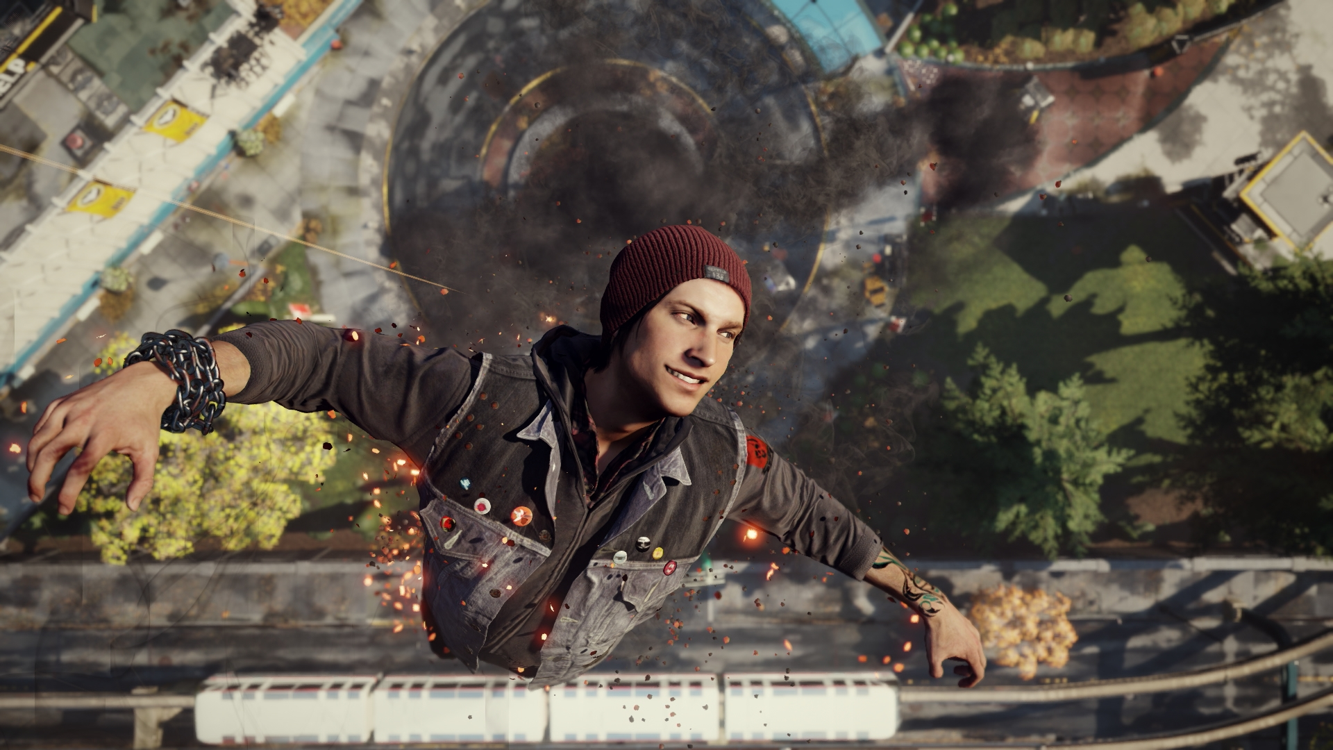 Infamous : second son 노멀난이도 선루트 ..