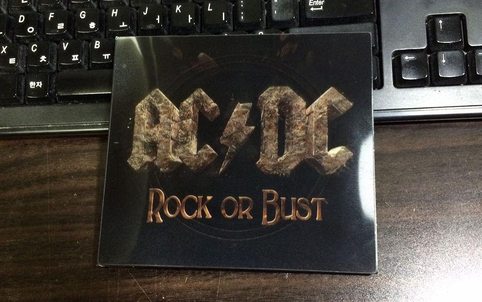Rock or Burst - AC/DC / 2014