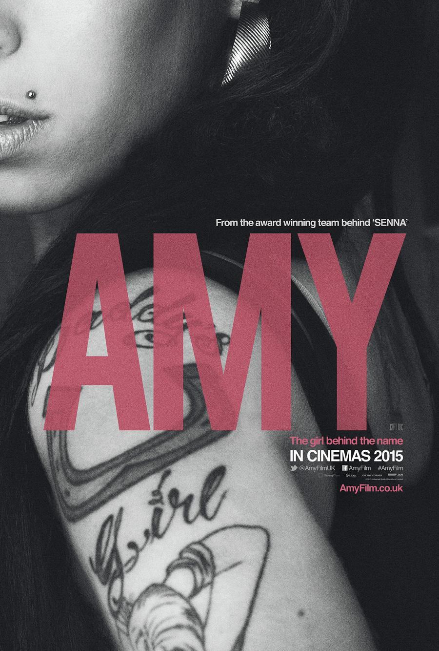 """애이미 와인하우스에 대한 다큐멘터리, """"Amy"""" 영상.."""
