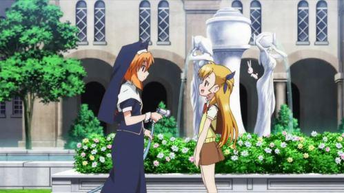 마법소녀 리리컬 나노하 Vivid 8화