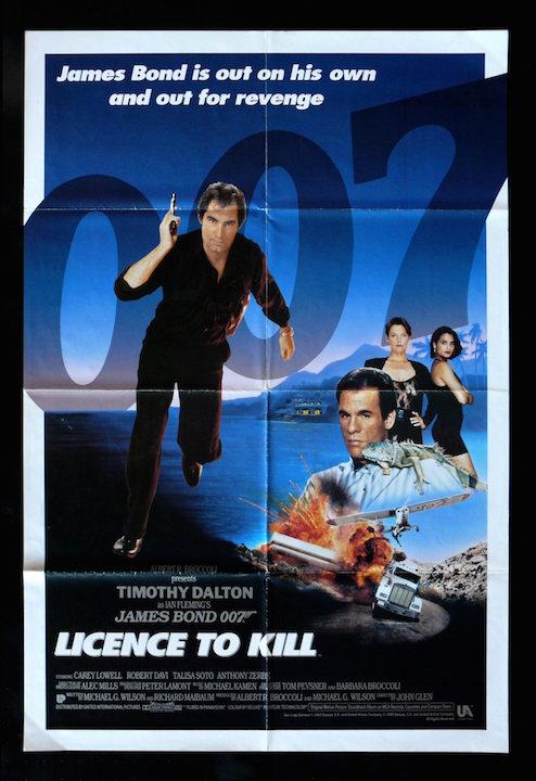 007정주행 16 - 살인 면허(Licence to Kill, 1989)