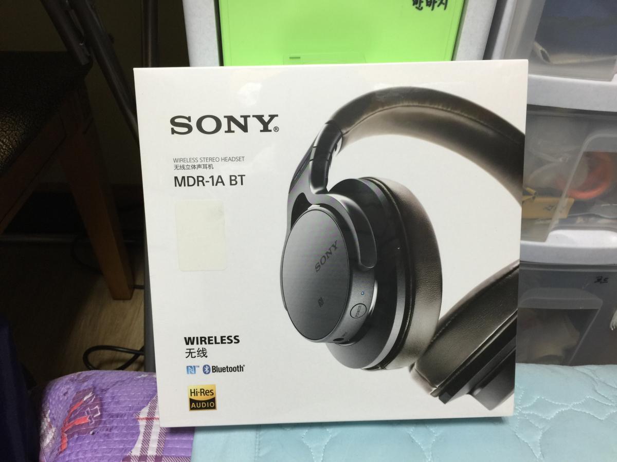 Sony MDR-1ABT... 라는 블루투스 헤드폰 사용기