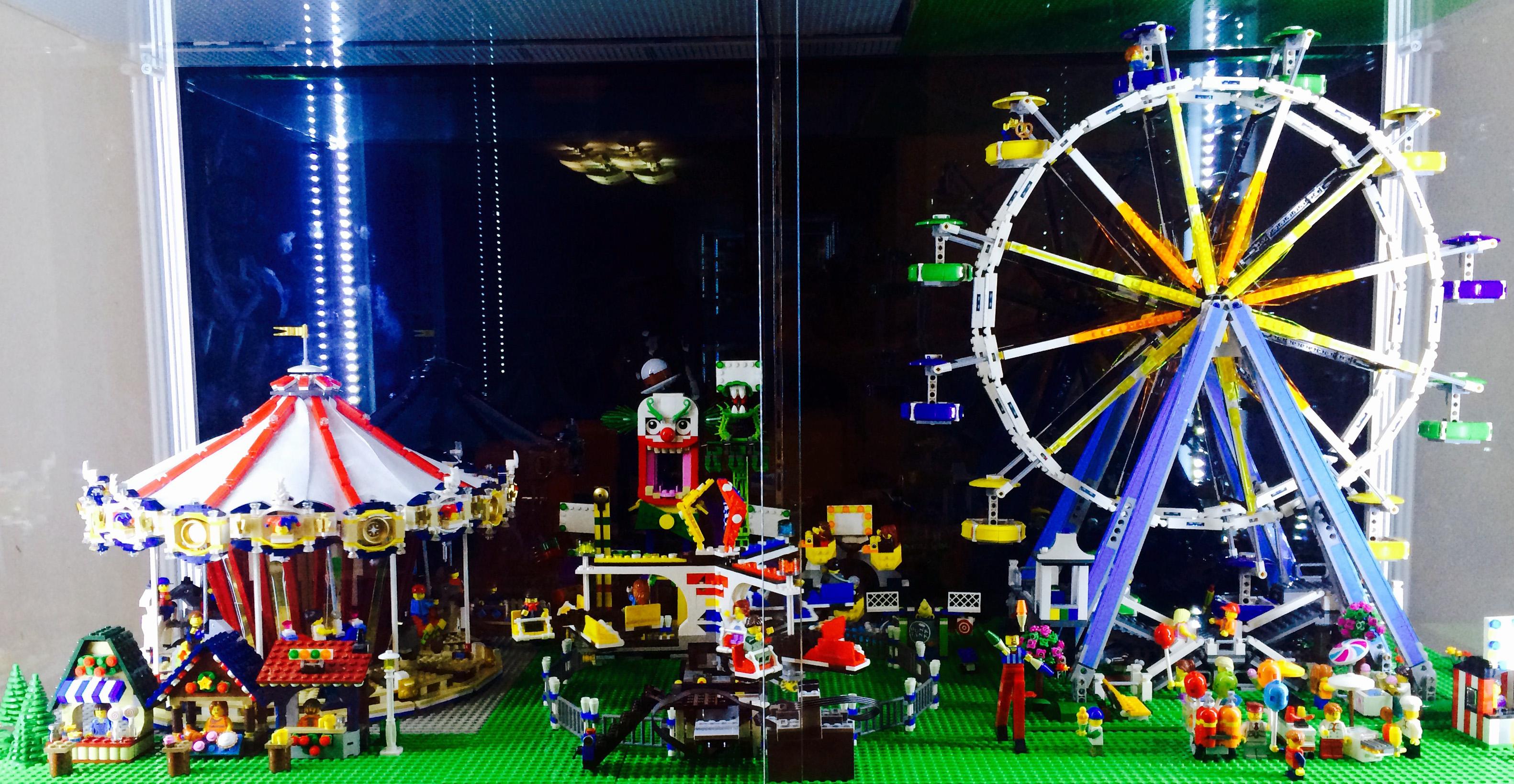 레고 놀이동산을 꾸며봤습니다. ^^