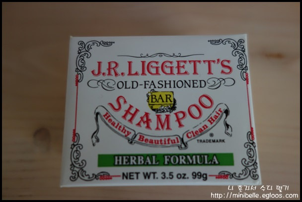 J.R Liggett's 올드 패션 바 샴푸