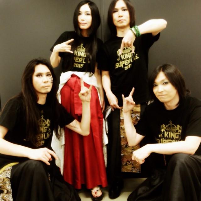 陰陽座(음양좌) KING SUPER LIVE 2015 종료