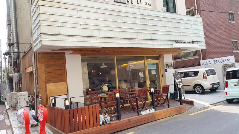 [홍대] 파인애플 판나코타와 카페 달고나 'imi'