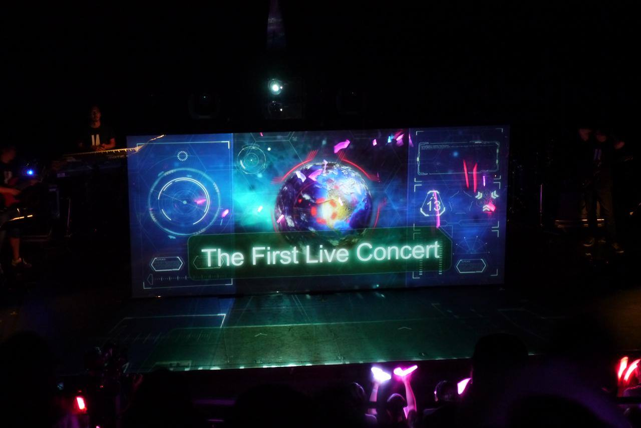 에니메이션 엑스포 2015에서 IA의 콘서트 사진