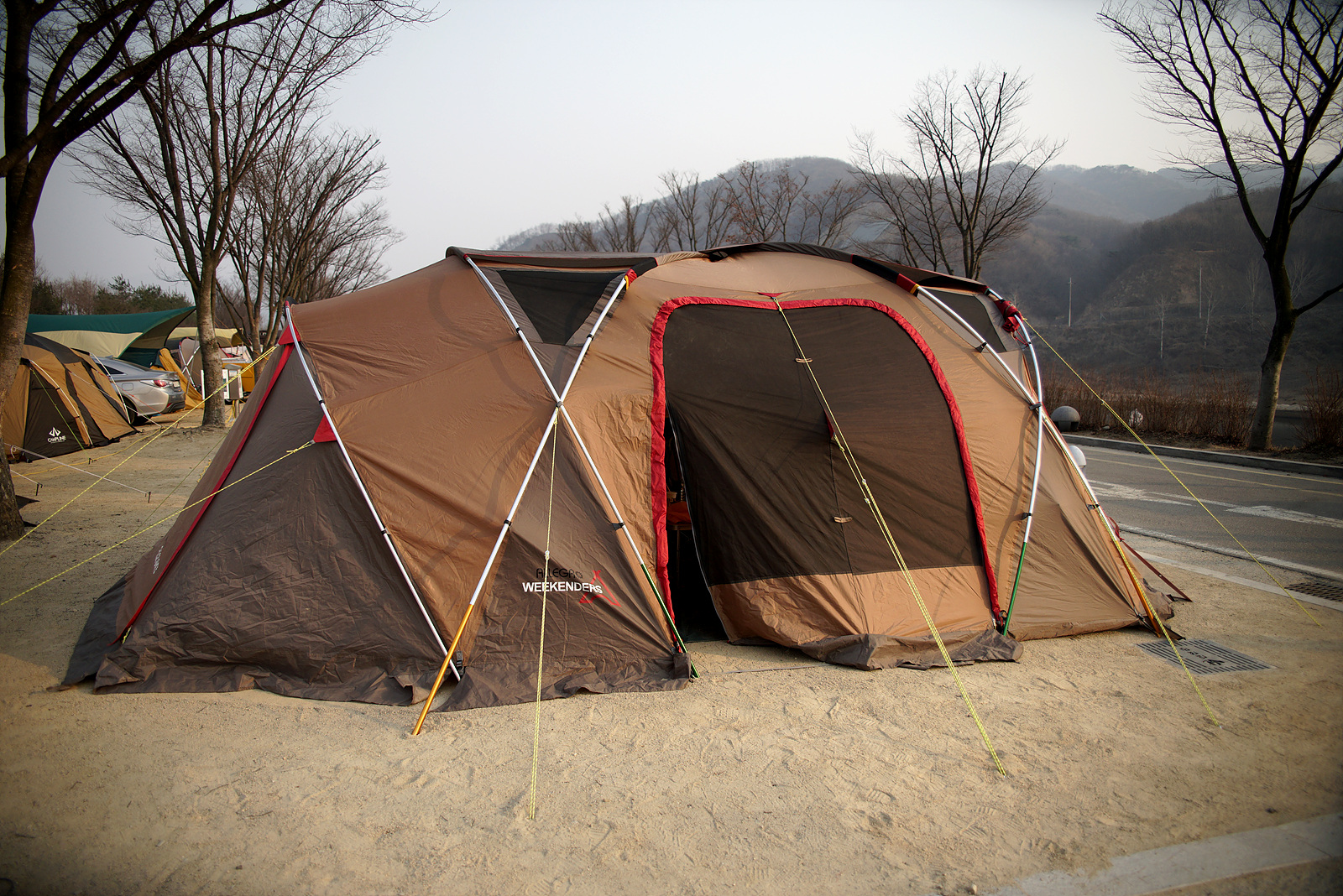 한탄강 오토 캠핑장~