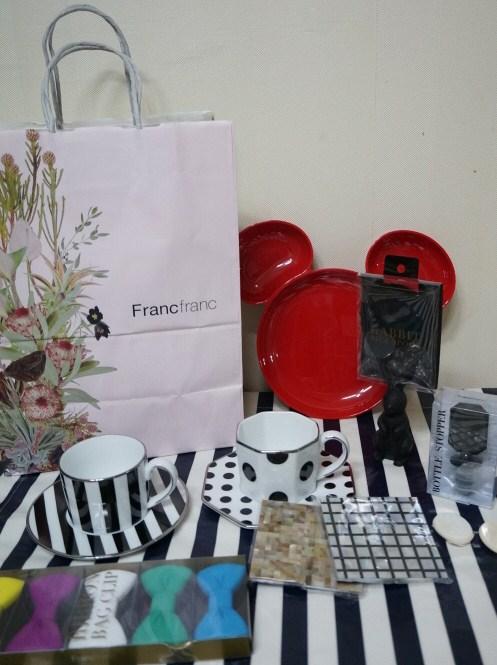 [일본여행] 오사카 우메다 프랑프랑 쇼핑샷 Franc ..