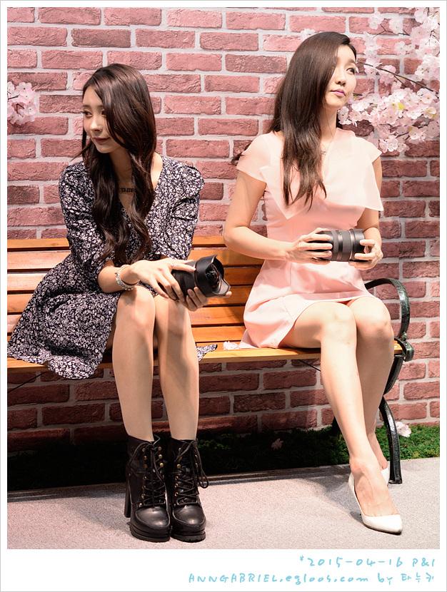 [P&I 2015] 모델 고정아와 민유린, 탐론