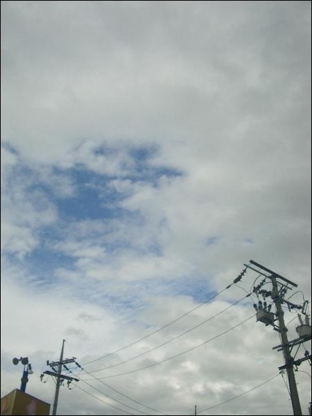비온 뒤 뭉게구름