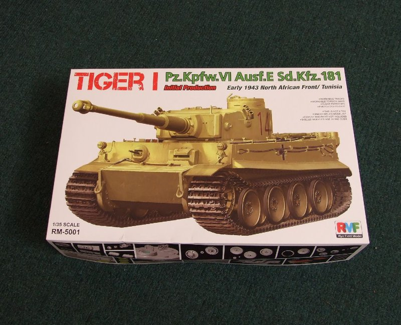 Rye Field Models Tiger I Initial production...