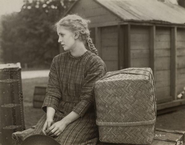1919년 빨강머리앤 무성영화 스틸컷