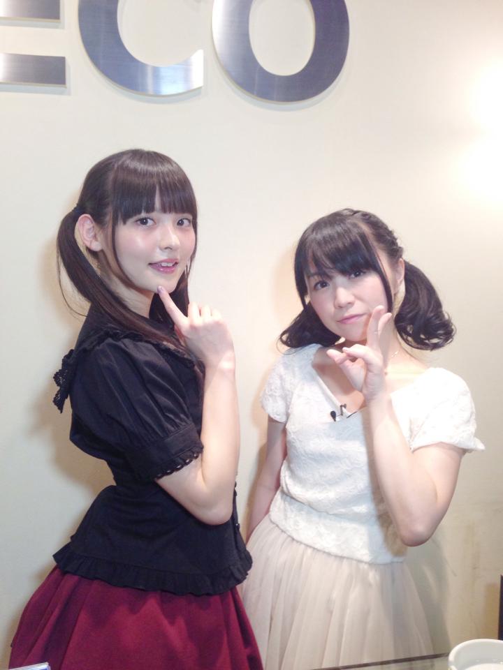 성우 우에사카 스미레가 자신의 트위터에 올린 사진 몇장