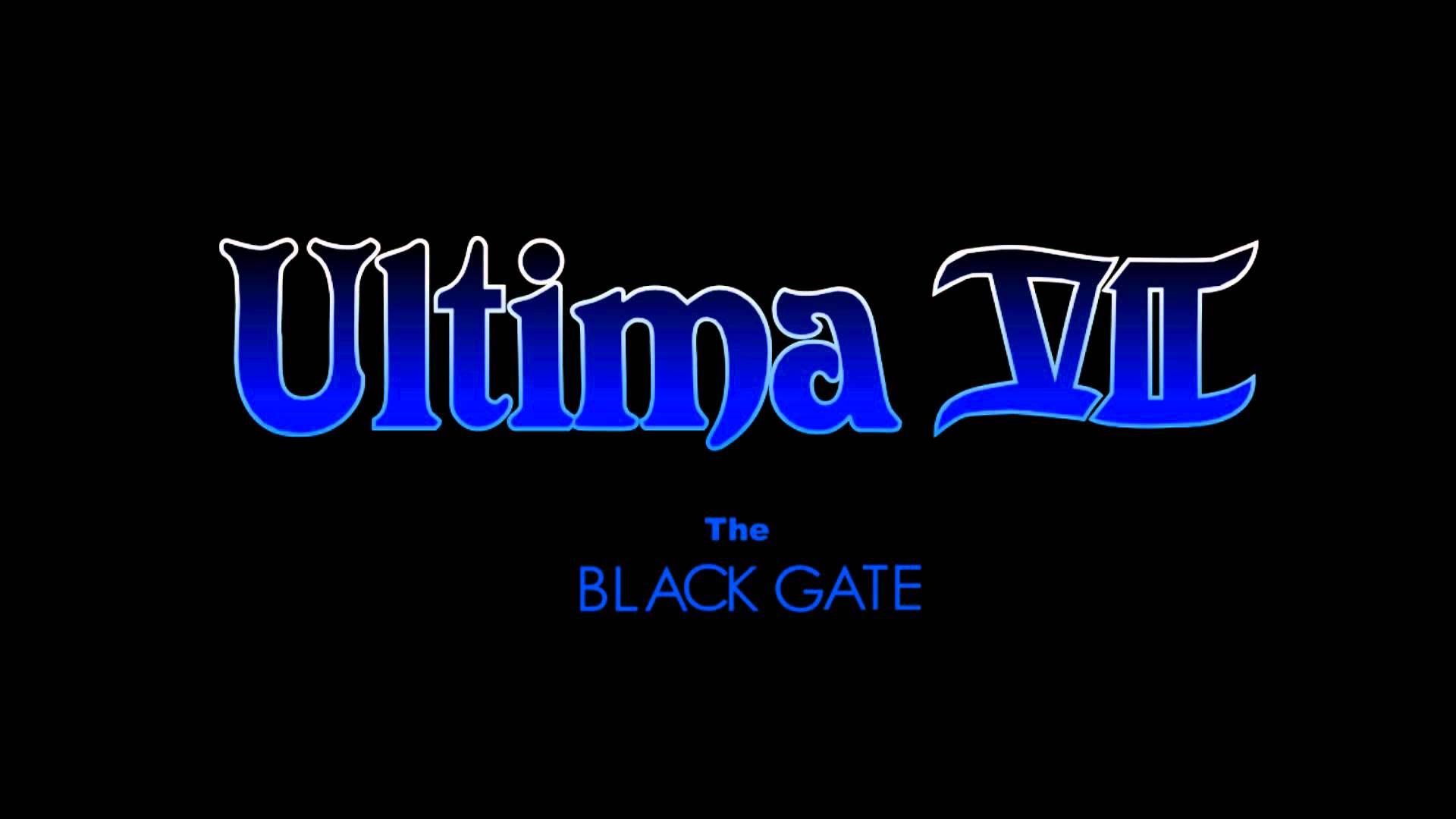 울티마 7: 블랙게이트... 또 하나의 명작