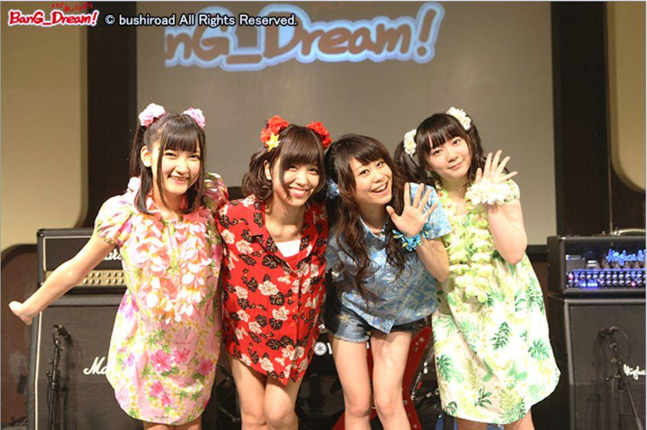 부시로드의 걸즈 밴드 프로젝트 'BanG_Dream!' 성..