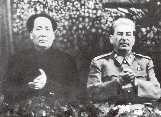 스탈린과 모택동,김일성을 조롱하다!