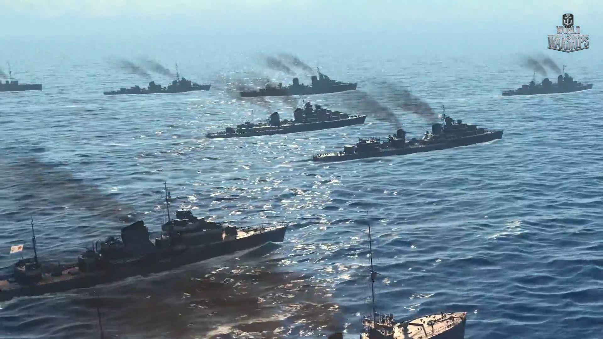 [W.o.WS] 소련 구축함 트리 공개