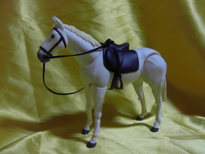 figma - 말 흰색, 차색 (굿스마 한정)