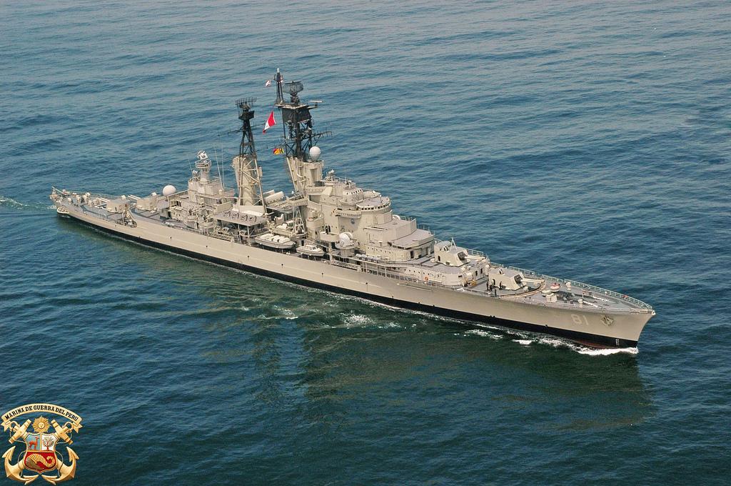 [페루 해군이야기]BAP Almirante Grau 대체함..