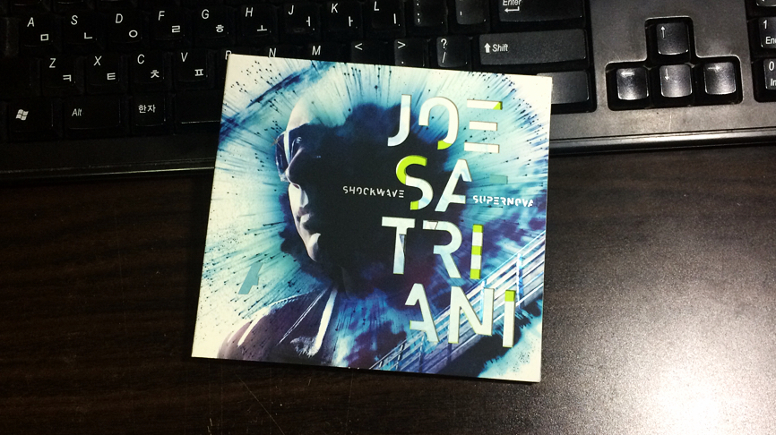 Shockwave Supernova - Joe Satriani / 2015