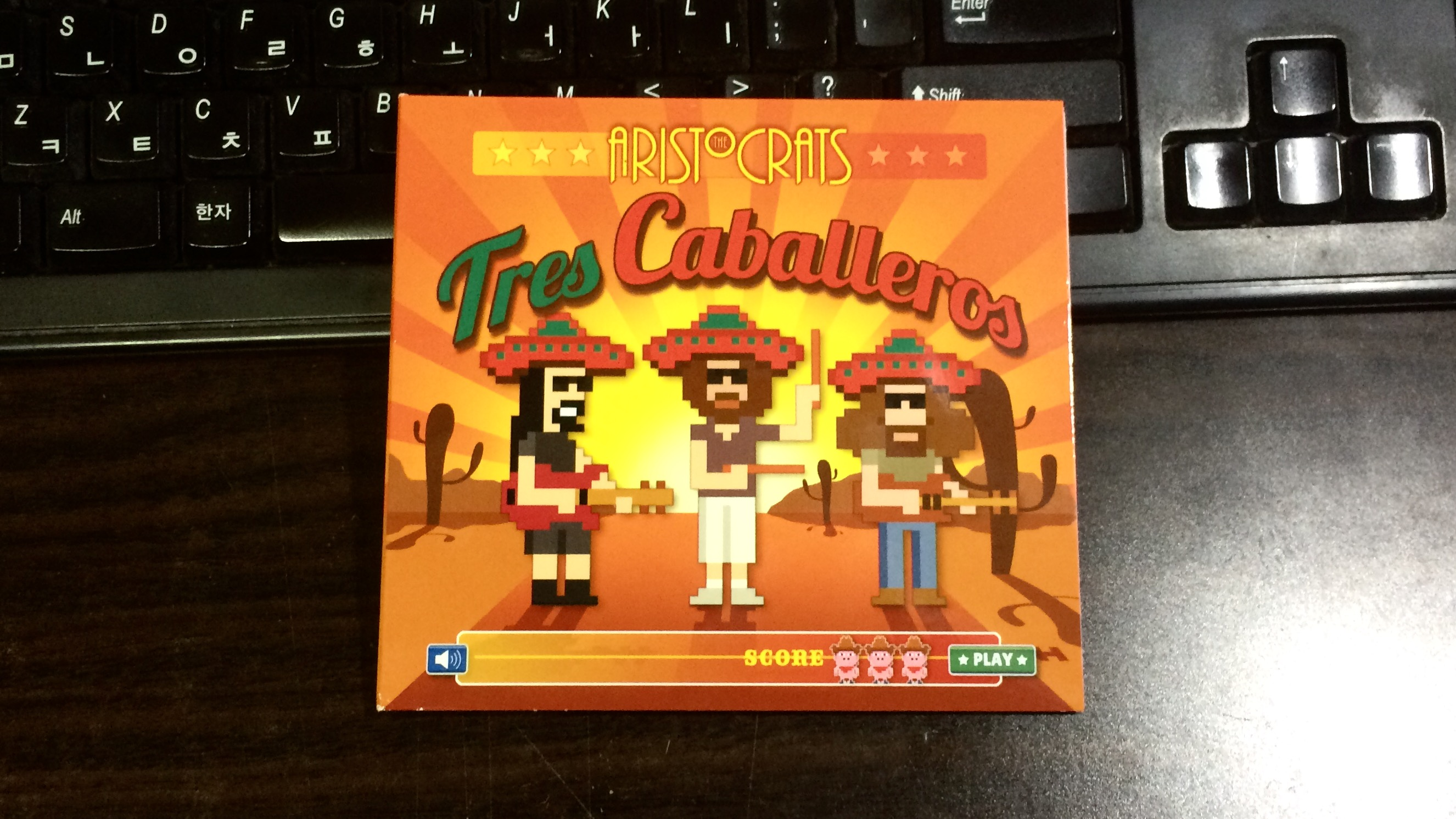 Tres Caballeros - The Aristocrats / 2015