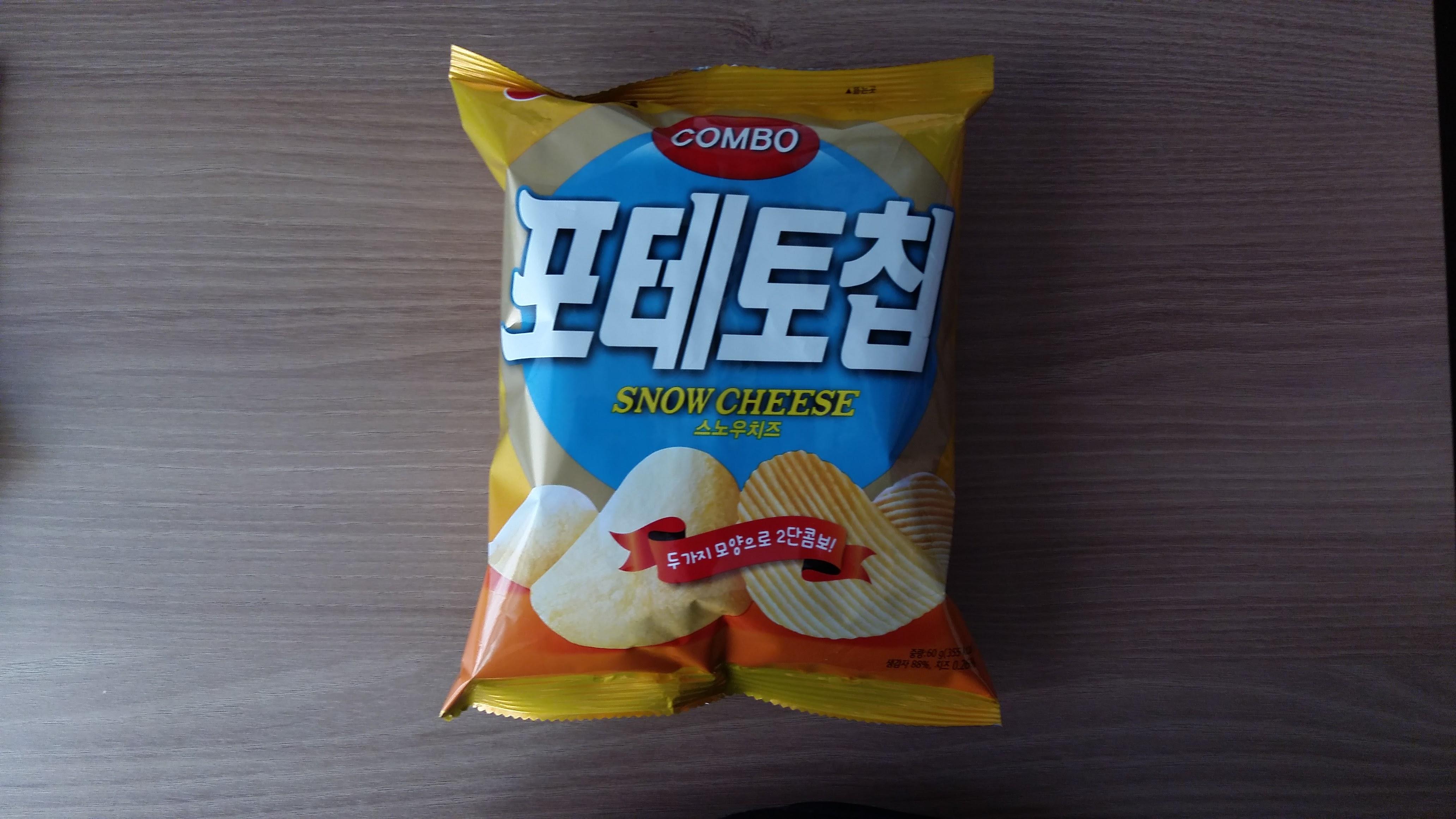 농심 - 포테토칩 스노우치즈맛