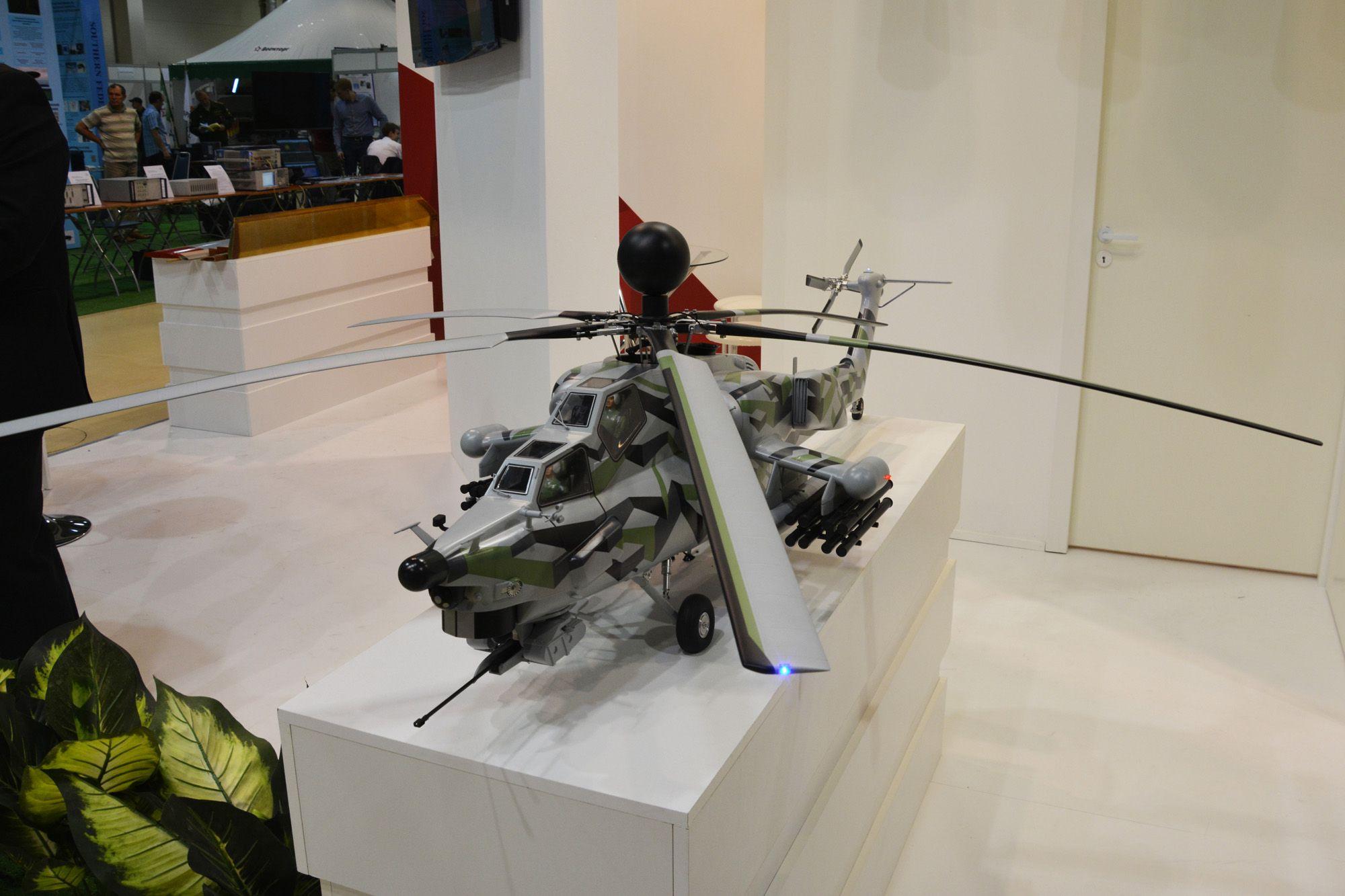 제작사에서 내보낸 Mi-28 모델