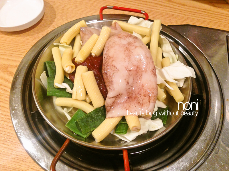서촌 남도분식 - 통오징어 떡볶이