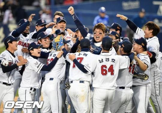 2015 한국 시리즈. 삼성은 미치는 선수가 없었다.