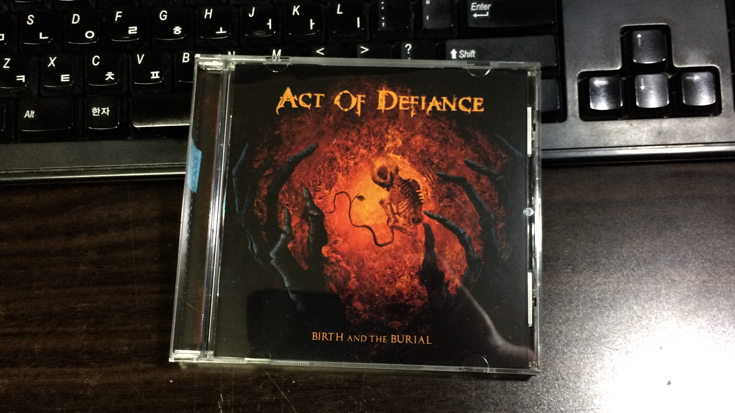 Birth And The Burial - Act Of Defiance / 2015