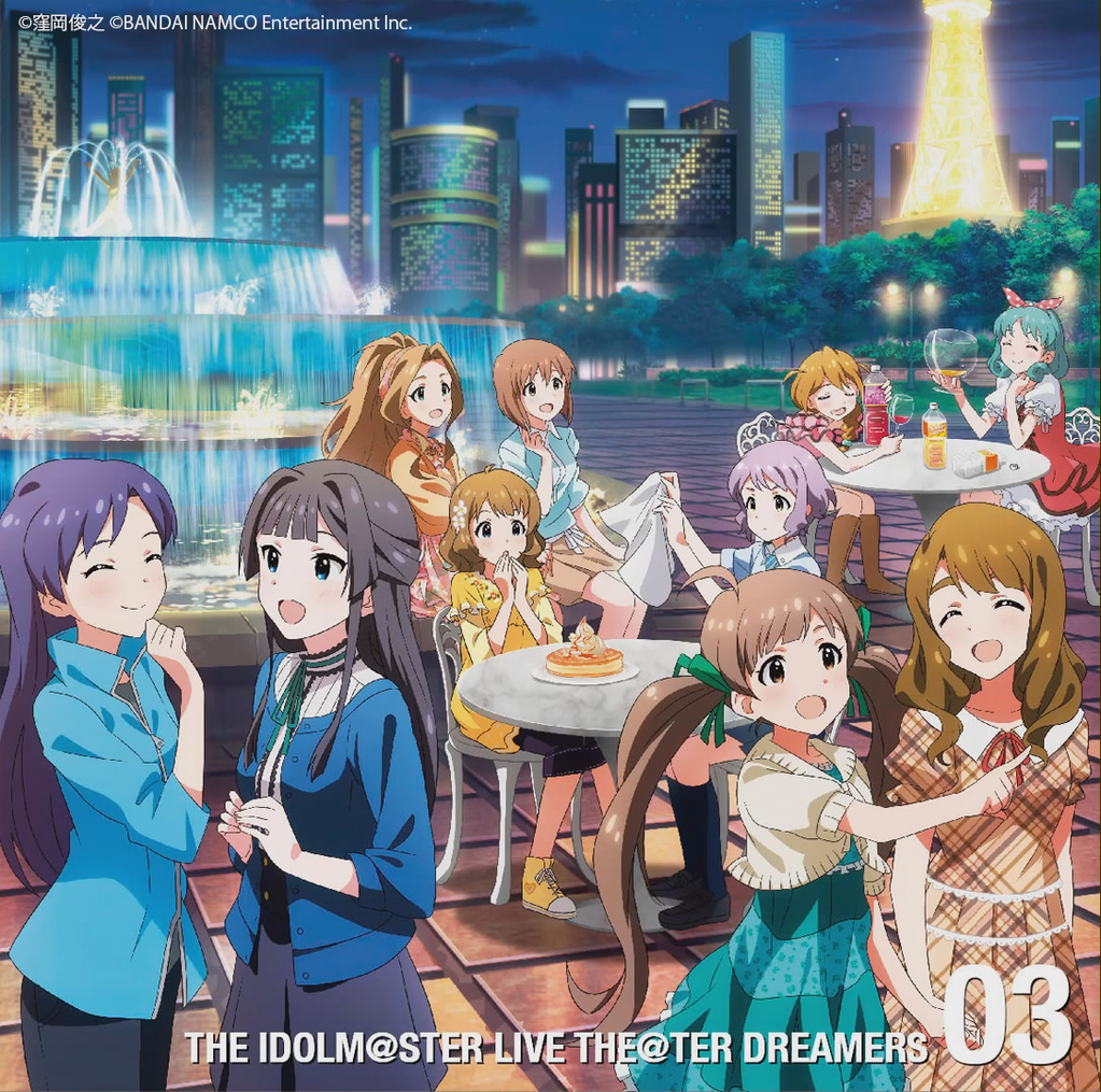 THE IDOLM@STER LIVE THE@TER DREAMERS..