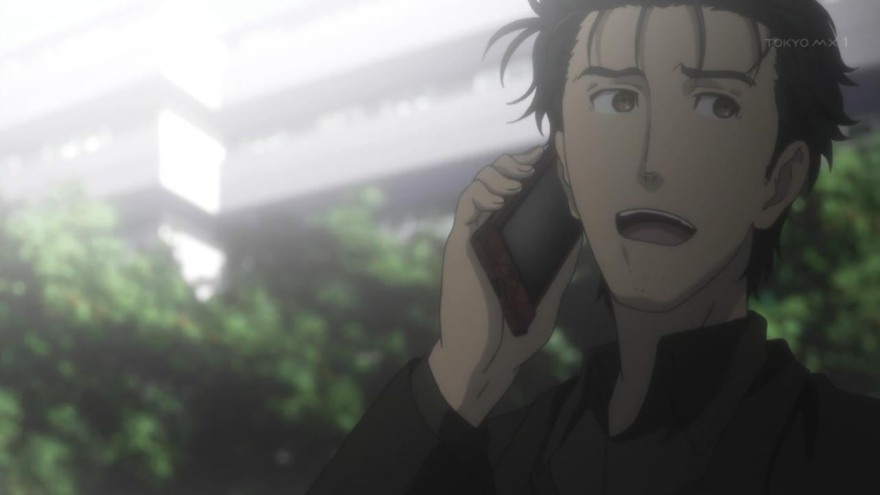 슈타인즈 게이트 애니메이션 제 23화 재방송판, 단..