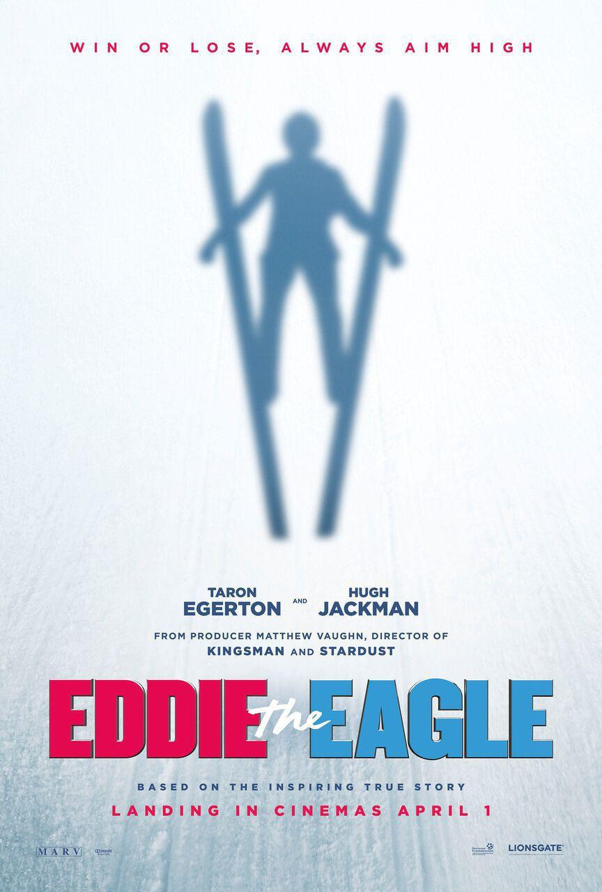 """""""Eddie the Eagle""""의 포스터와 예고편입니다."""