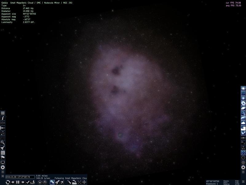스페이스 엔진 - 블랙홀 찾기