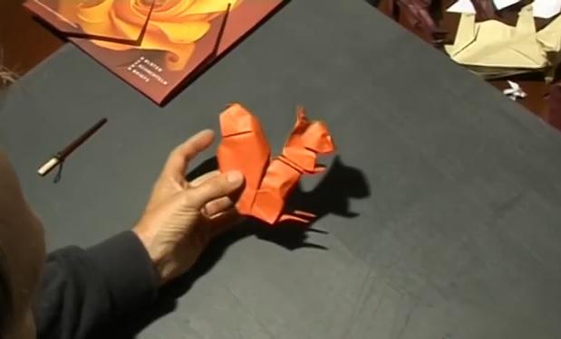 다람쥐 종이접기 동영상
