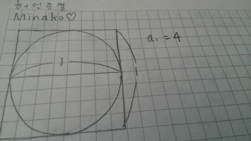 기적의 수학자 - ( 원주율 = 4 ) 증명